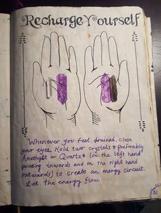 Witch Spell Book, Witchcraft Spell Books, Wiccan Spells, Magick, Magic Spells, Green Witchcraft, Healing Spells, Crystal Magic, Crystal Healing Stones