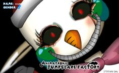 I made this with Animatronic Jumpscare Factory! Download from http://jcsoft.com/freddysjumpscarefactory!