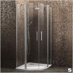 Duschkabine Parsa2 - SEBASTIAN e.K. - Parsa2 ist eine runde, rahmenlose Duschkabine mit leichtem Einstieg. Genießen Sie den offenen Blick auf Ihren Wellnessbereich.
