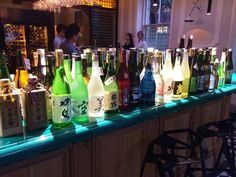 Japanese sake at Yashin Ocean House