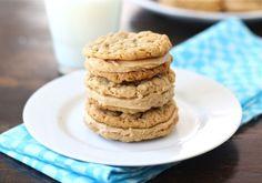 peanut butter oatmeal sandwich cookies. soft & chewy peanut butter cookies w/ creamy pb filling.