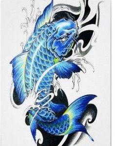 Drawn koi carp blue koi - pin to your gallery. Explore what was found for the drawn koi carp blue koi Tattoo Pez, Koi Tattoo Sleeve, Carp Tattoo, Tattoo Drawings, Koi Tattoo Design, Tattoo Designs Foot, Japanese Koi Fish Tattoo, Koi Fish Drawing, Koi Kunst