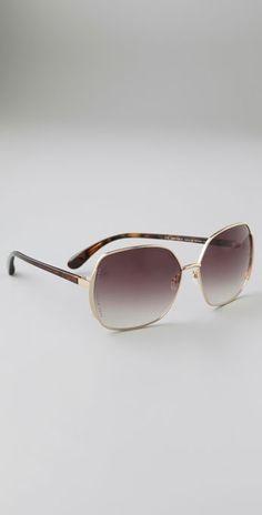 Marc By Marc Jacobs Slim Line Sunglasses thestylecure.com