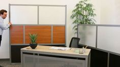 Divide and Conquer: How to Break Up a Large Open Office #interiordesign #officedesign | National Business Furniture