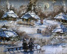 Image result for вечера на хуторе близ диканьки pinterest