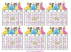 Disney princess birthday games coloring pages 53 ideas Princess Bingo, Princess Party Games, Disney Princess Birthday, Kids Relay Races, Bingo Games Free, Princess Palace Pets, Carnival Games For Kids, Sleepover Games, Birthday Party Games