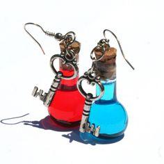 Health and Mana earrings!