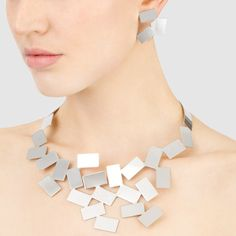 Fiato Sul Collo Necklace and Earrings