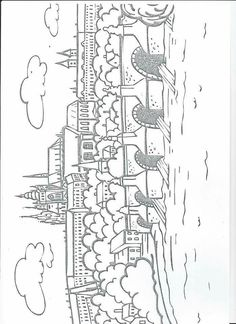 Colouring Pages, Coloring Books, Middle Ages History, Elementary Science, Kids Education, Prague, Geography, Worksheets, Homeschool
