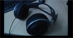 This is a picture of one of the many set of headphones available with the Flatron computers. They enabled me to listen to different music videos on YouTube during my research and planning stages of my project.