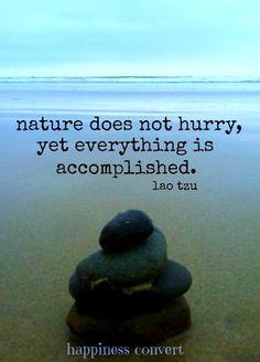 Nature quote via www.Facebook.com/HappinessConvert