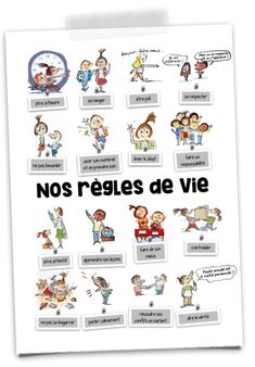 The rules of class life with Max and Lili – Mélimélune - New Sites Superhero Classroom, Classroom Board, Science Classroom, Classroom Decor, French Language Lessons, French Lessons, 1st Grade Homework, Empathy Quotes, French Classroom