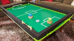 How to make a slide soccer table - Better Homes and Gardens - Yahoo! New Zealand