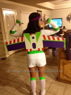 Buzz light year Halloween DIY wings