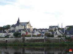 Candes-Saint-Martin, France