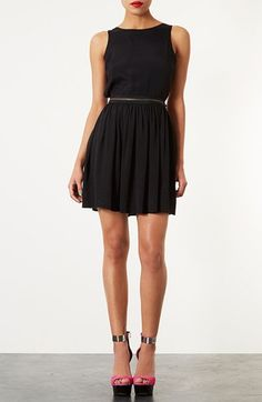 Topshop Zipper Pinafore Dress available at #Nordstrom waited too long to hit order and it sold out Boooo Hoooo