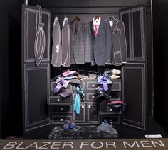 Blazer for Men by Lori and Winnie - 1st Place Winners | by @SenecaFashion