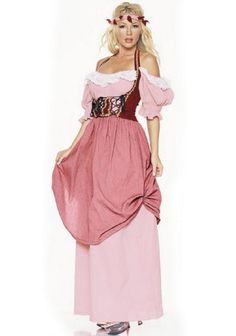 Renaissance Women Costume Adult- Cute and simple to sew :)