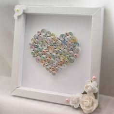 Quilled heart in a frame by ~InnaAdamenya on deviantART