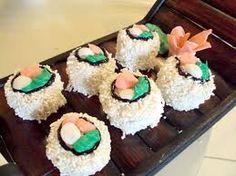 Sugary sushi!