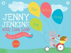 Sing and Learn Colors with Jenny Jenkins and Lisa Loeb | Best Apps for Kids