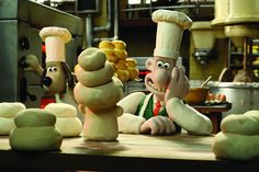 wallace et gromit. from Aardman studio