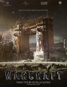 Warcraft Movie Poster OOOOOOOHHHHHH MYYYYYYYY GOOOOOOOOOODDDDDDDDD