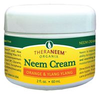Thera Neem Leaf & Oil Cream Sweet Orange & Ylang: WOW! I love this cream! It hydrates, doesn't break me out or irritate my skin, soaks in right away, and my skin feels plump after applying it. It's not shiny and smells DELICIOUS! I use this throughout the day purely because I love using it. The ingredients are natural and full of goodness. Not tested on animals!