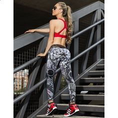 These might be the best looking brazilian athletic pants you will  get to wear in your life. www.ronitaylorfit.com  Fitness Motivation, Workout Clothes Make sure to check out my fitness tips and sexy women's athletic clothing at www.ronitaylorfit.com/