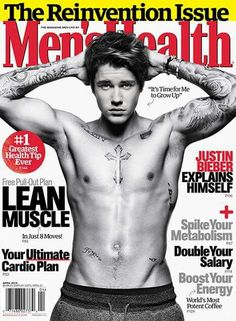 No photoshop here check out Justin Bieber Flaunts Crazy New Muscles on Men's Health Cover,@usweekly #justinbieber @justinbieber #menshealth @menshealth #getthebuzz716