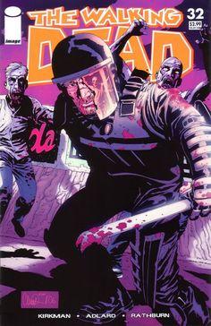 Capa da Edição #32 de The Walking Dead