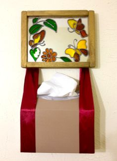 Do you have a guest ready bathroom? Here's a towel holder craft with Kleenex Hand Towels. #CGC #CleanHands