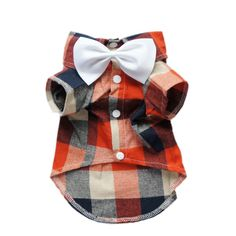 Fitwarm Handsome Wedding Dog Shirt Plaid Pet Clothes for Boys Polo Coat Bow Tie Boy Dog Clothes, Yorkie Clothes, Small Dog Clothes, Teacup Yorkie, Dog Wedding, Girl And Dog, Dog Dresses, Dog Shirt, Dog Accessories