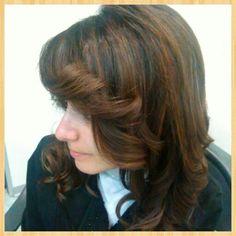 #Piega glamour in tutte le due sfumature #modacapellirosa #potenza #cdj #degradejoelle #tagliopuntearia #degradé #welovecdj #igers #naturalshades #hair #hairstyle #haircolour #haircut #fashion #longhair #style #hairfashion