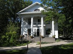 Sanctuary Guest House & Tearoom ~ (my Grandparent's home since 1940's) ~ Walhalla, ND