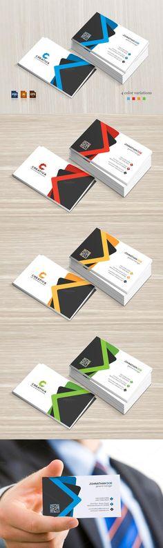 #businesscard #design from BettyDesign | DOWNLOAD: https://creativemarket.com/BettyDesign/673113-Corporate-Business-Card?u=zsoltczigler