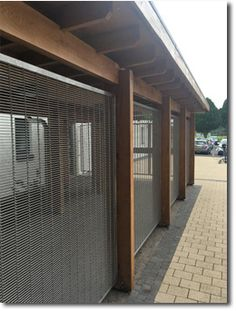 Gladstone PC architectural pre-crimped mesh decorative security screening at Antrim Golf Club, Northern Ireland. Security Screen, Gladstone, Wire Mesh, Northern Ireland, Screens, Golf Clubs, Windows, Architecture, Outdoor Decor