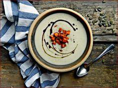 Rozmaringos karfiolkrémleves tökmagolajos sült répával / Főzelékes Feri receptjei - Nők Lapja Cafe