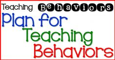 How to Teach Behavio