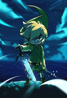 And here's Link looking like a magical woodland warrior badass First Video Game, Video Game Art, Hero Time, Wind Waker, Hyrule Warriors, Nintendo Characters, Legend Of Zelda Breath, Link Zelda, Gaming Memes