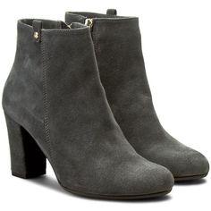Polokozačky QUAZI - 2434 Šedá Booty, Ankle, Shoes, Fashion, Moda, Swag, Zapatos, Wall Plug, Shoes Outlet