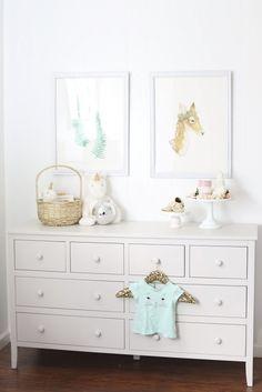 Adorable Baby Girl Nursery @potterybarnkids