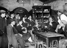 Fado no restaurante Ferro de Engomar em Benfica - 1930