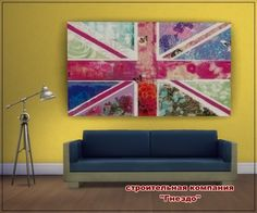 Colorful hope paintings at Sims by Mulena via Sims 4 Updates