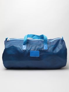 Marc By Marc Jacobs Men's Rubber Coated Duffle Bag in blue streak at oki-ni Mens Designer Accessories, Man Purse, Blue Streaks, Beautiful Bags, You Bag, Marc Jacobs, Backpacks, Purses, My Style