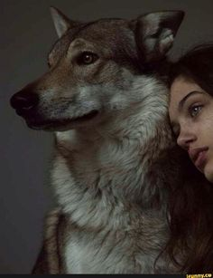 Found on iFunny Wolf Spirit, Spirit Animal, Dark Photography, Portrait Photography, Color Composition, Fantasy Magic, Wolves And Women, Aesthetic People, Wolf Girl
