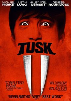 Tusk, Movie on DVD, Comedy Movies, Horror/  Sorry to say but this movie was awful! And I love Kevin Smith!