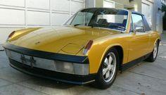 """Gold Metallic"" 1971 Porsche 914/6"