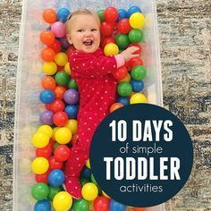 Toddler Approved!: 10 Days of Simple Toddler Activities Challenge