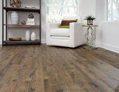 parterre vinyl flooring installation | townhouse kitchen + bar in